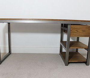 edgar industrial metal desks