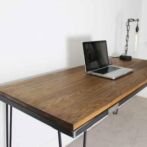 hairpin vintage desk