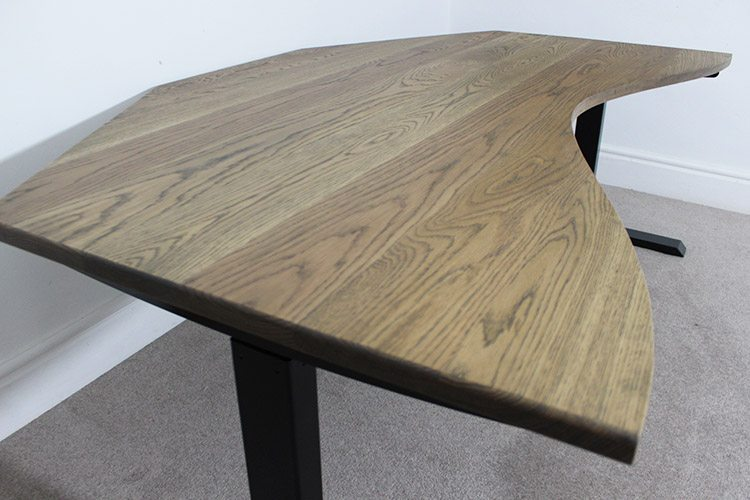 industrial adjustable height desks