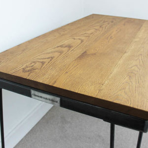 industrial hairpin leg desk
