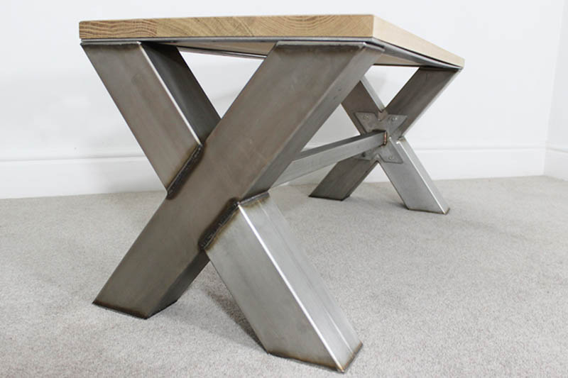 metal coffee table legs