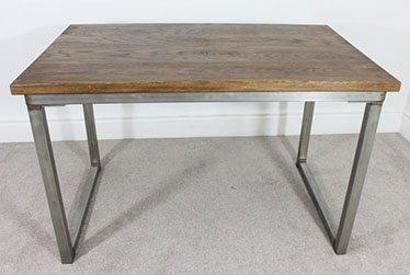 remington oak industrial office desk