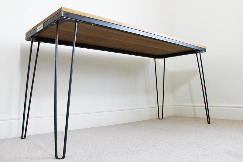 vintage hairpin leg desk