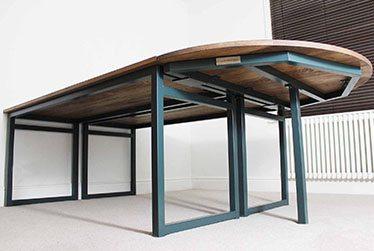 vintage industrial bespoke desks