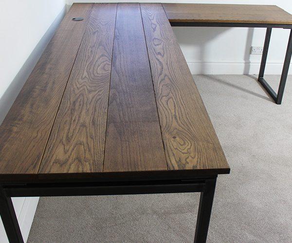 industrial corner desks