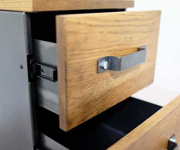industrial style file cabinets