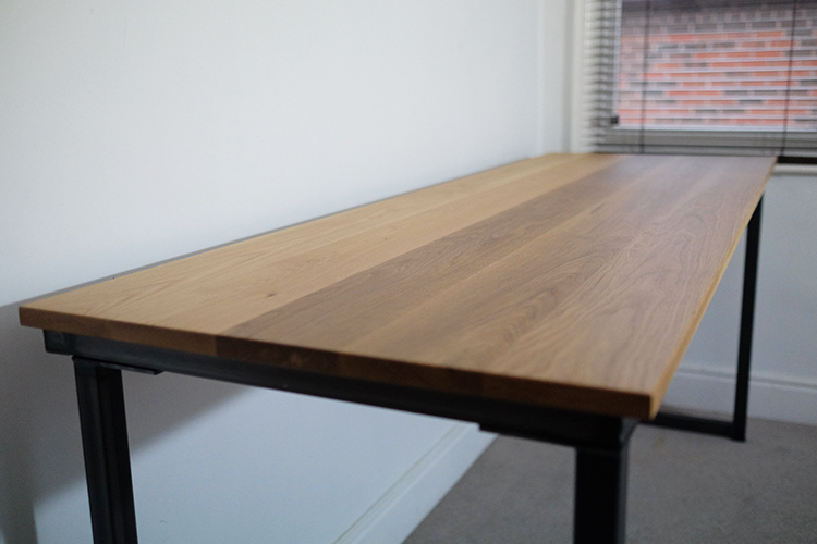 tall industrial desks