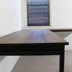 vintage industrial corner desks