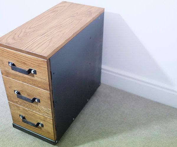 vintage metal file cabinets