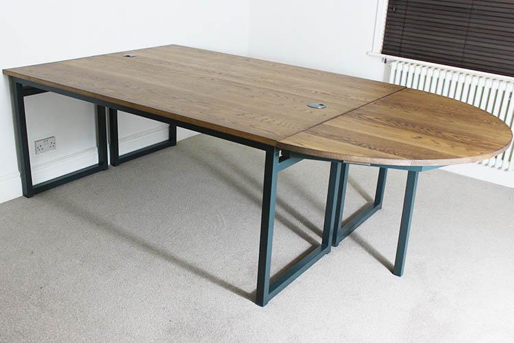 2 tables bespoke industrial