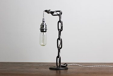 crain industrial table lamp