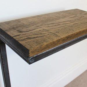 industrial sofa table