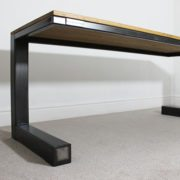 large vintage industrial desk