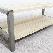 oak industrial coffee table london