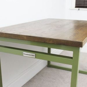 reed green industrial desk