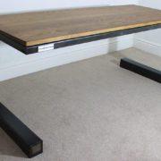 small industrial vintage desk