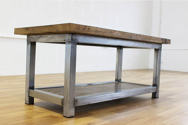 vintage industrial coffee tables
