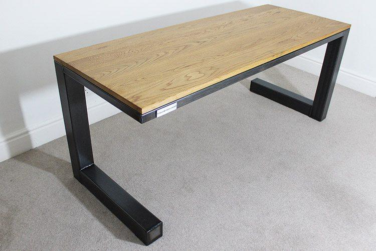 Industrial Desk marl industrial desk - russell oak and steel ltd