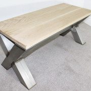 x-frame-vintage-coffee-table