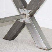x frame industrial desk