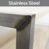 mild vs stainless steel