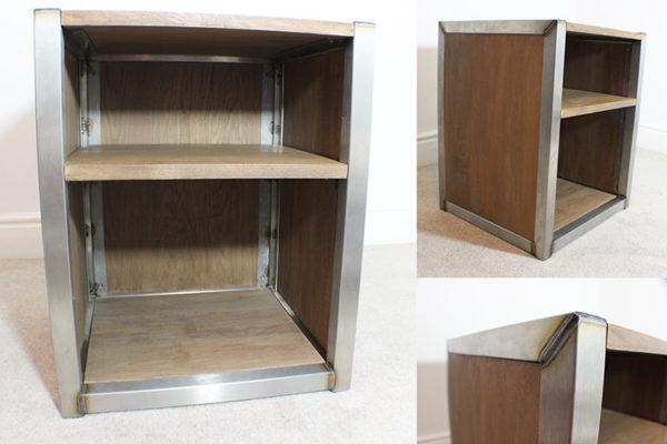 under desk industrial storage