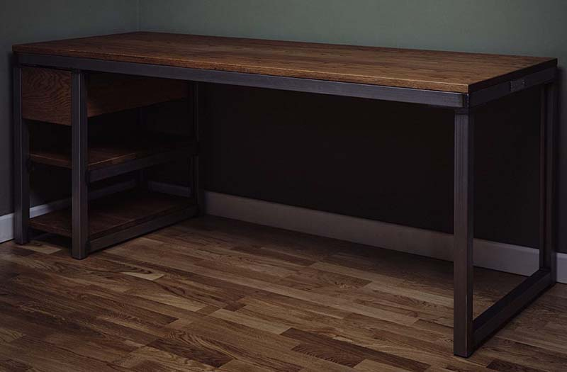 industrial furniture bespoke desk unique