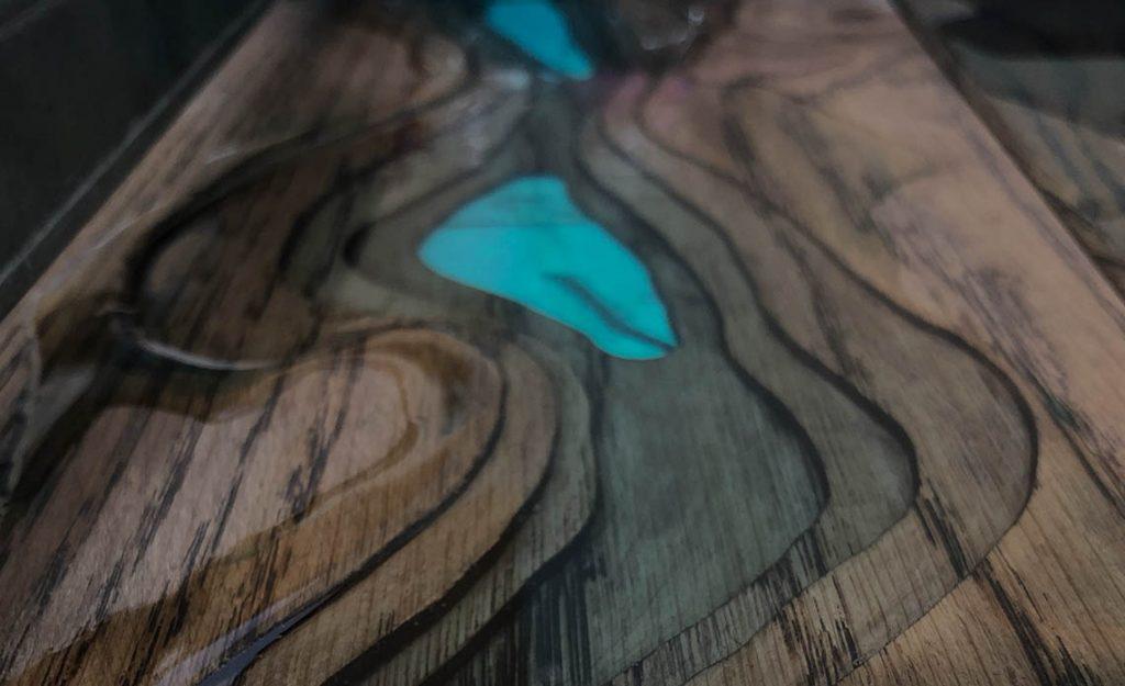 russell resin table tops handmade to order custom