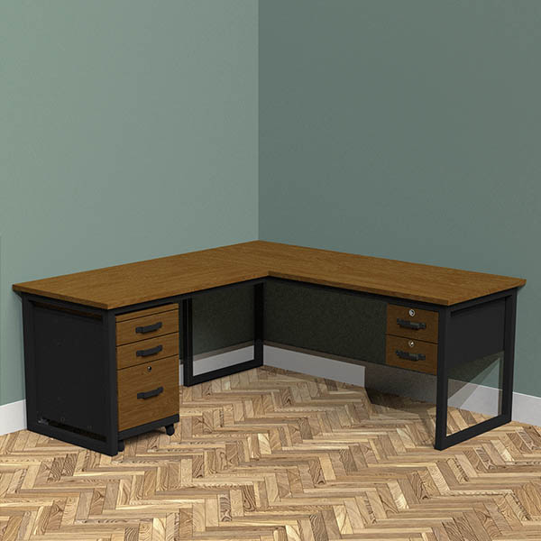 Double Drawer + Filing Cabinet (Add £700.00)