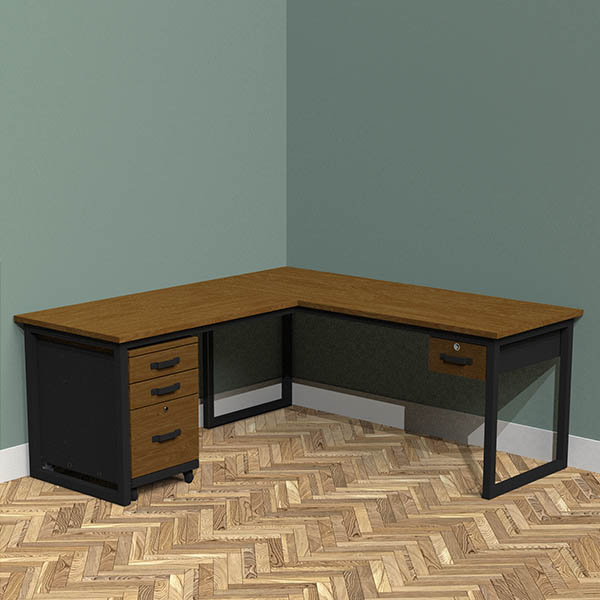 Single Drawer + Filing Cabinet (Add £650.00)
