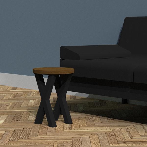 Bespoke X-Frame Sofa Table
