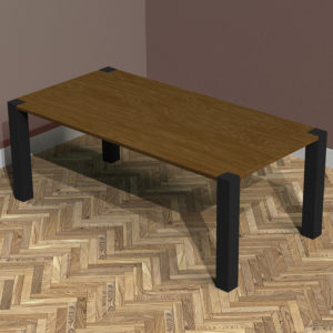 Industrial Dining Room Table Hugh