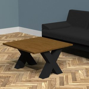 Luxury X-Frame Coffee Table