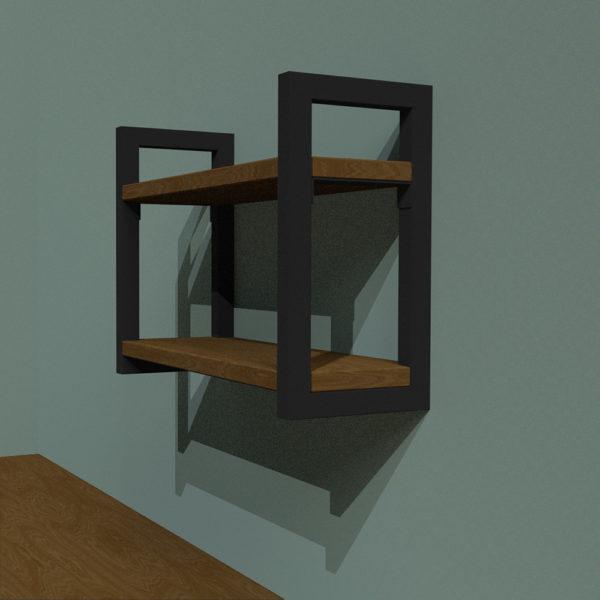 Oak Remington Wall Mounted Shelf