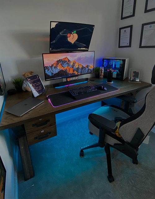 complete custom office desk