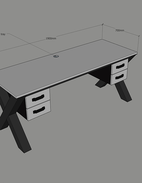 create bespoke office desk