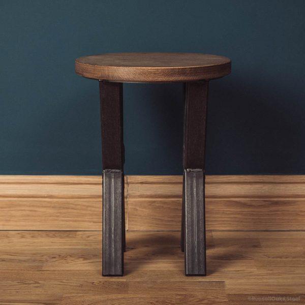 small x frame sofa table