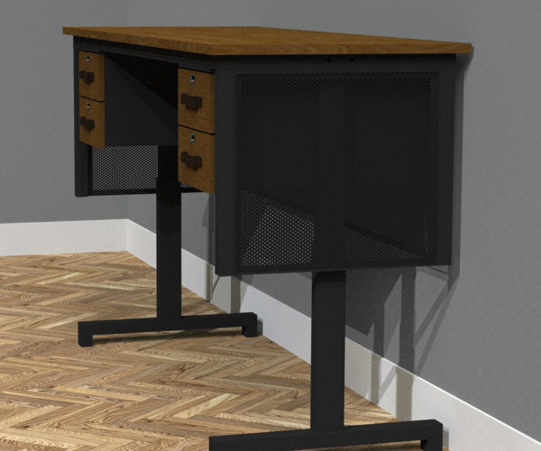 Luxury Vintage Electric Desk