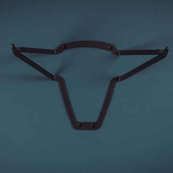 bull bike rack stand metal