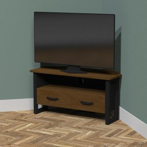 industrial corner tv cabinet
