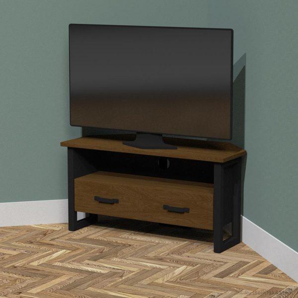 industrial corner tv cabinet
