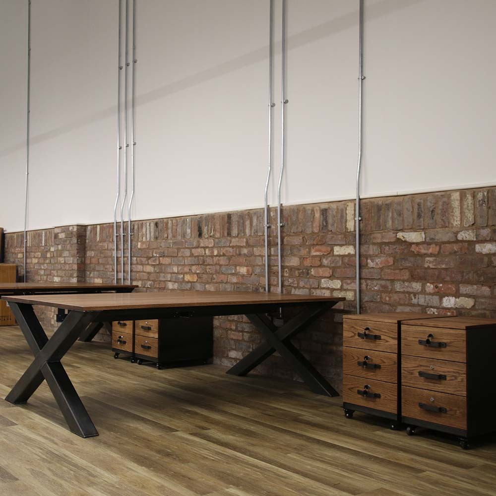 industrial office desk manufacturer uk