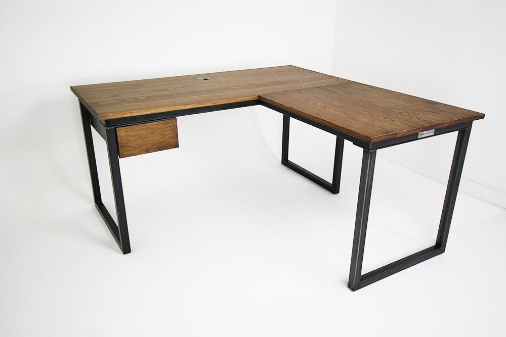 bespoke industrial corner desks