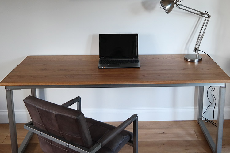 bespoke industrial laptop desk