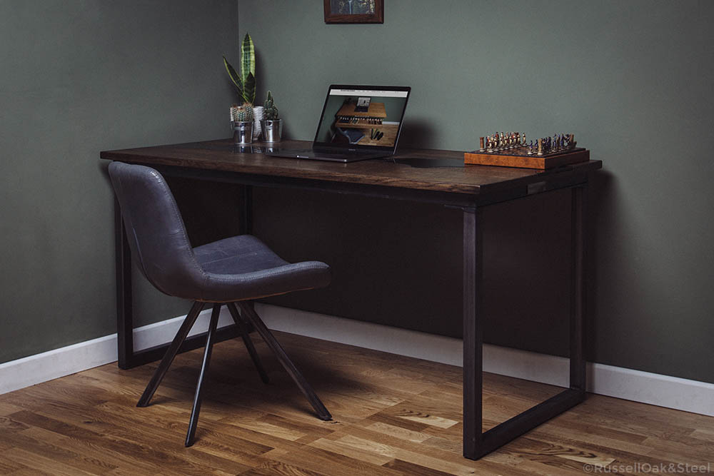 black river industrial desk