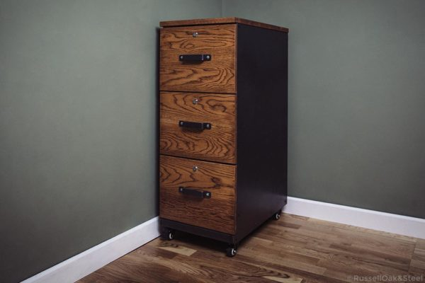 carsington oak 3 drawer filing cabinet