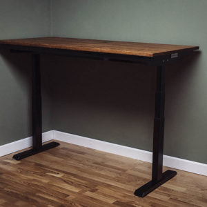 electric vintage industrial standing desks