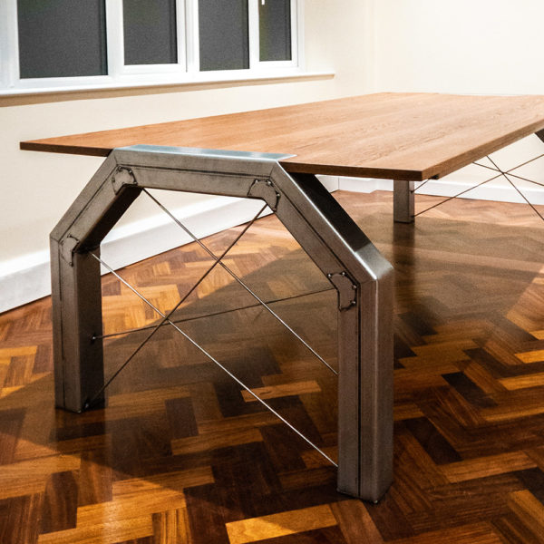 grange industrial meeting table