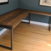 handmade corner desk industrial