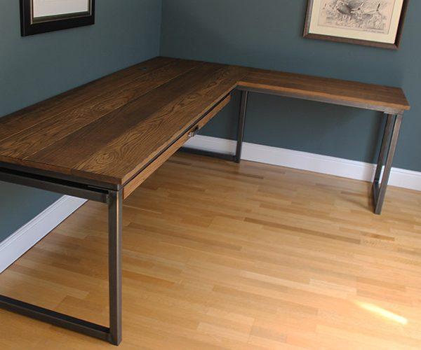 Handmade Corner Desk